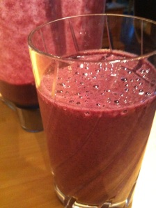 Blueberry Recovery Shake